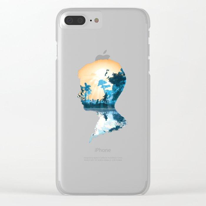 Best Friends Boy version Clear iPhone Case
