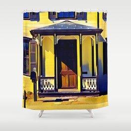 Victorian Porch Shower Curtain