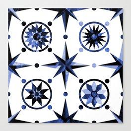 Nautica Blue Canvas Print