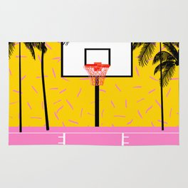 Dope - memphis retro vibes basketball sports athlete 80s throwback vintage style 1980's Rug