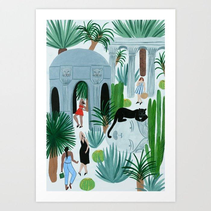 Ruinas Art Print