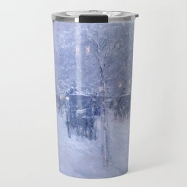 Late Afternoon New York Winter - Childe Hassam  Travel Mug