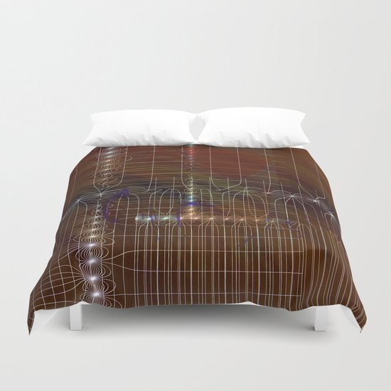 metro plan Duvet Cover