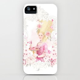 Marie Antoinette Paris in Spring iPhone Case