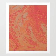 Orange Dream Art Print
