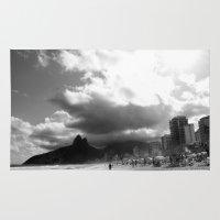 rio de janeiro Area & Throw Rugs featuring High Rio de Janeiro by Bob Pestana