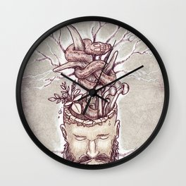 Wicked Mind Wall Clock