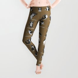 Boston Terriers Yoga Leggings