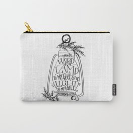 Psalm 119:105 Carry-All Pouch