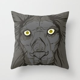 The King's Ghost Throw Pillow