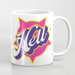 HELL - pop vintage letters Coffee Mug