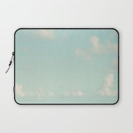 Abstract Sky Clouds Print Laptop Sleeve
