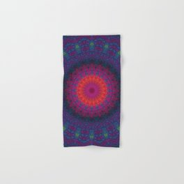Lacy Mandala Hand & Bath Towel