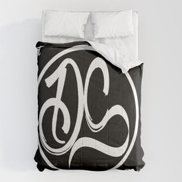Defiant Society Logo Comforters
