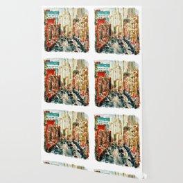Winter in Chinatown - New York Wallpaper