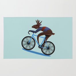'Tis the season to be cycling Rug