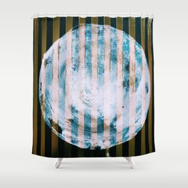 Full Cold Moon Shower Curtain