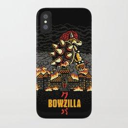 BOWZILLA iPhone Case
