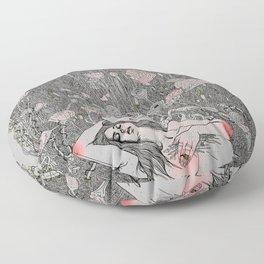 Fragrance of Light Floor Pillow
