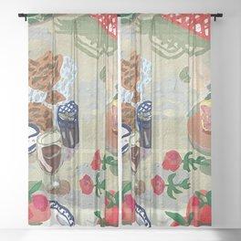 Picnic 4U Sheer Curtain