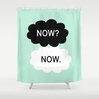 tfios Shower Curtains featuring Now by Beautiful Homes