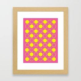 CMY Poster 3 Framed Art Print