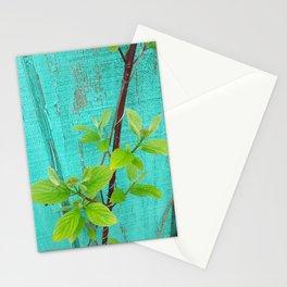 Spring Greens Stationery Cards