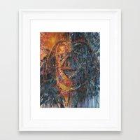 vader Framed Art Prints featuring Vader by artofJPH