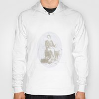mom Hoodies featuring Mom by Giuseppe Verga