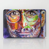 steve jobs iPad Cases featuring steve jobs by yossikotler