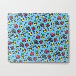 Cool Fruits Metal Print
