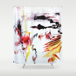 Passing Attack Shower Curtain