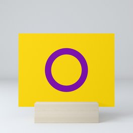 Intersex Pride Flag LGBTQ Mini Art Print