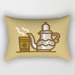 Arabic Tea time Rectangular Pillow