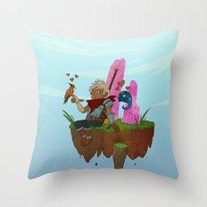 Bastion - The Kid Throw Pillow