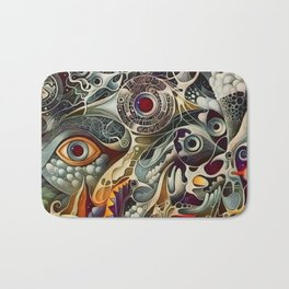 All Seeing Bath Mat