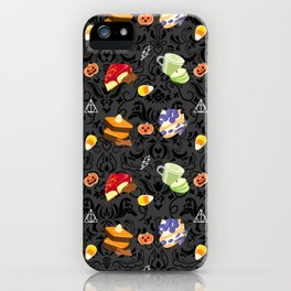 Magical Fall Snacks iPhone Case