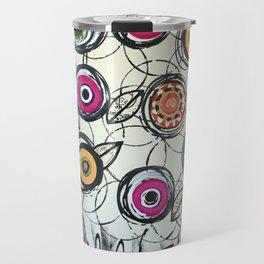 Cool Flowers Travel Mug