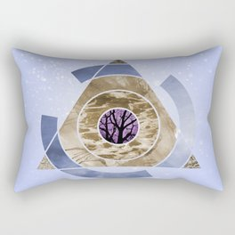In With Nature Rectangular Pillow
