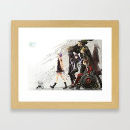 Funeral Parlor Guilty Crown Framed Art Print