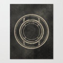Tron: Identity Disc Canvas Print