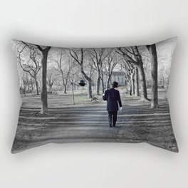 It's a long road to nowhere Rectangular Pillow