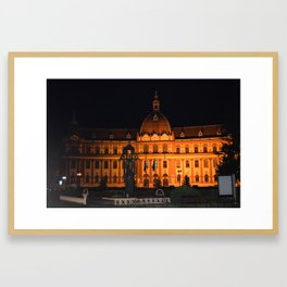 brazov romania Framed Art Print