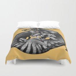 Thylacines Duvet Cover