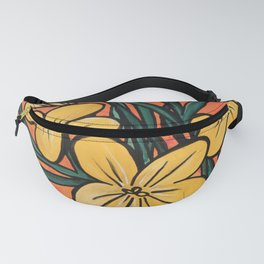 Yellow Crocuses Fanny Pack