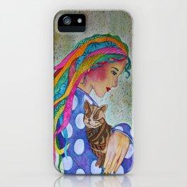 Love Flows iPhone Case
