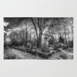 Highgate Cemetery London Rug