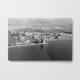 Aerial view Metal Print
