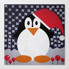 christmas pinguin Canvas Print