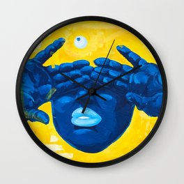 Seen Thru It All Wall Clock